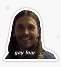 gay fear Sticker