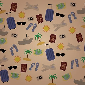 Travel Journal Pattern by Viatorem