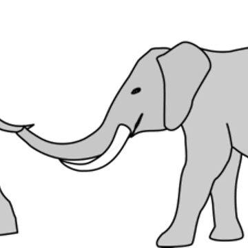 Elephants by christinaashman