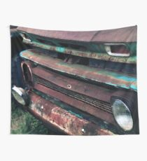 1960's Rusty Chevrolet Truck Wall Tapestry
