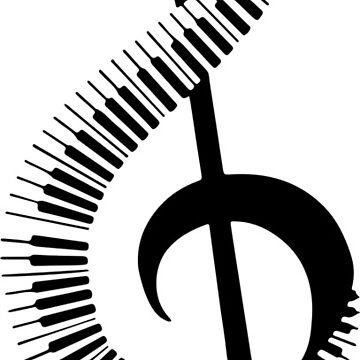 Piano Musical Note by Kevin757