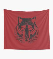 Solitude Logo · Distressed Wall Tapestry