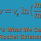 Rocket Science and the Tsiolkovsky Rocket Equation by Jim Plaxco