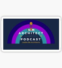Architect Podcast - Rainbow Sticker