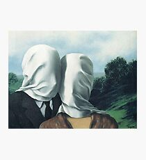 René Magritte - Die Liebhaber II Fotodruck