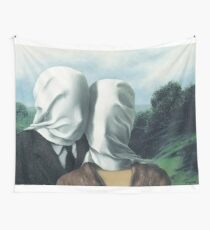René Magritte – The Lovers II Wall Tapestry