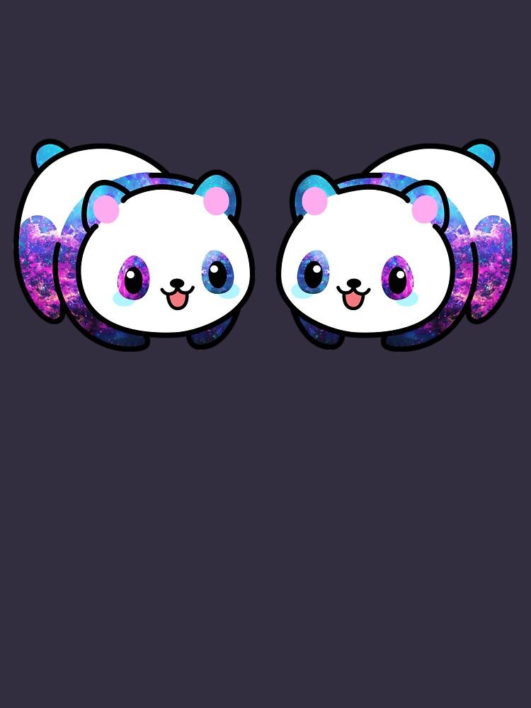Patrón Kawaii Galactic Mighty Panda de EuGeniaArt