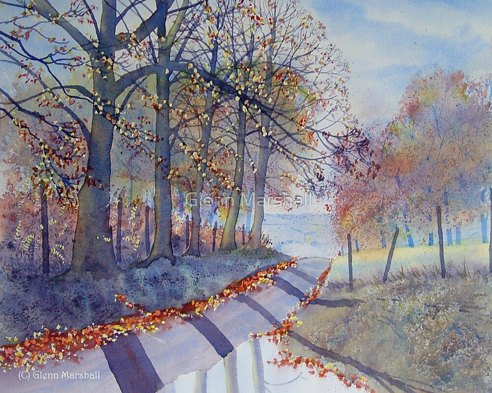 ABSOLUTELY AUTUMN – TROUTSDALE by Glenn Marshall