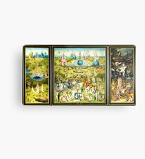 HD Der Garten der Lüste - FULL- von H. Bosch HIGH DEFINITION + Originalfarben Metallbild