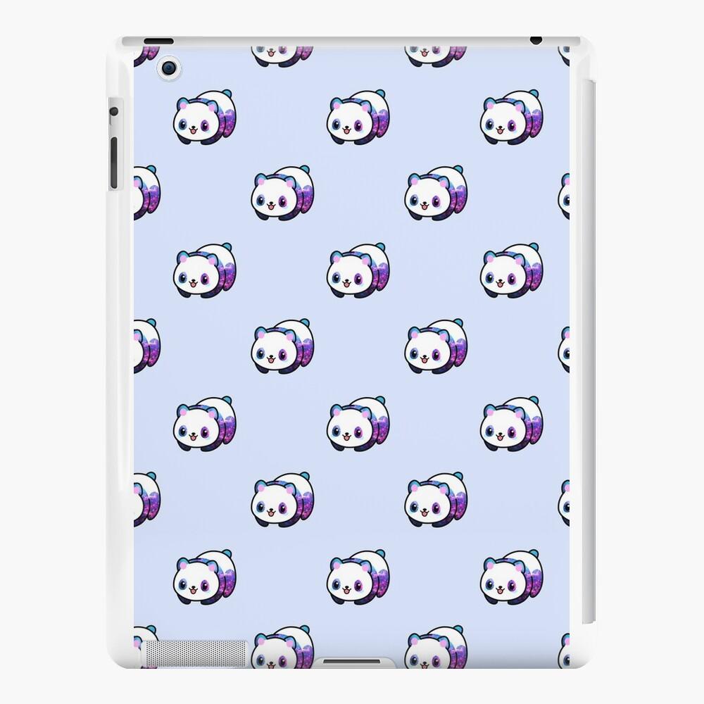 Patrón Kawaii Galactic Mighty Panda Vinilos y fundas para iPad