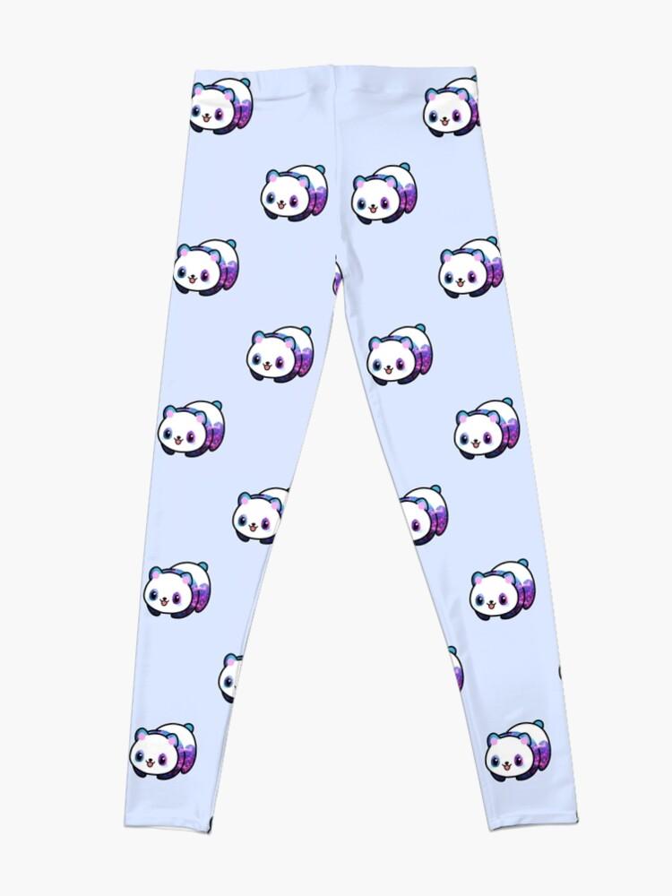 Vista alternativa de Leggings Patrón Kawaii Galactic Mighty Panda