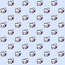 «Patrón Kawaii Galactic Mighty Panda» de EuGeniaArt