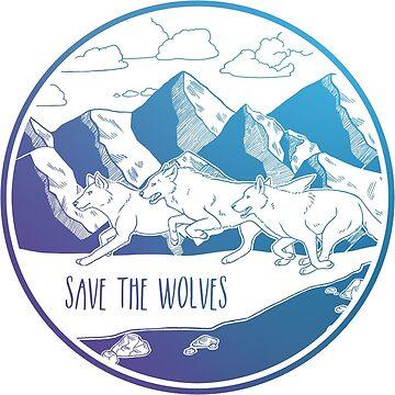 ¡Salva a los lobos! de Chikagi