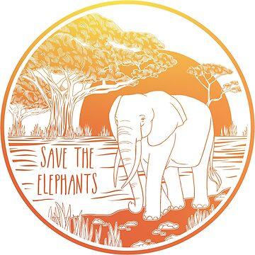 ¡Salva a los elefantes! de Chikagi