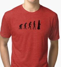Evolution of the dark side Tri-blend T-Shirt