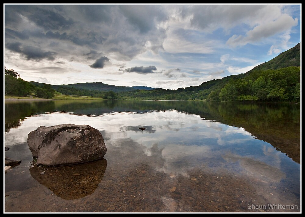 Storm clouds over Rydal water by Shaun Whiteman