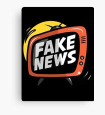 The Fake News, Channel I.0 Canvas Print