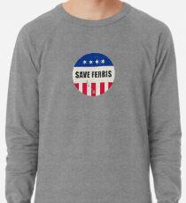 Mens Hoodie Retro 80/'s Movie Ferris Bueller Day Off Distressed Save Ferris