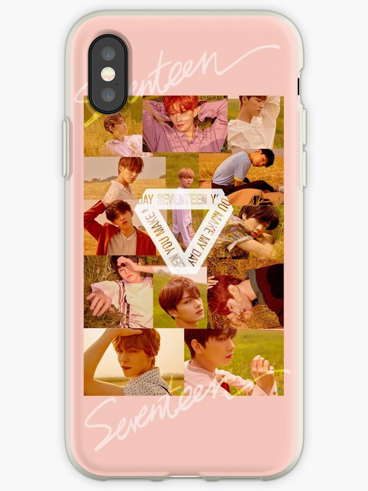 1acc3a4673 SEVENTEEN You Make My Day Group Photo Phone Case + Stickers + More ...