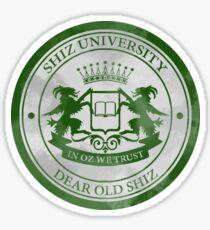 Shiz University Logo Sticker