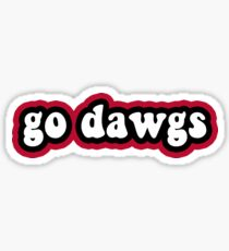 Go Dawgs - University of Georgia Sticker