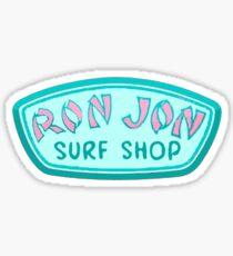 ron jon stickers redbubble