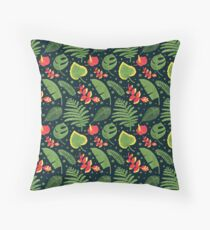 The Tropical Plant Throw Pillow