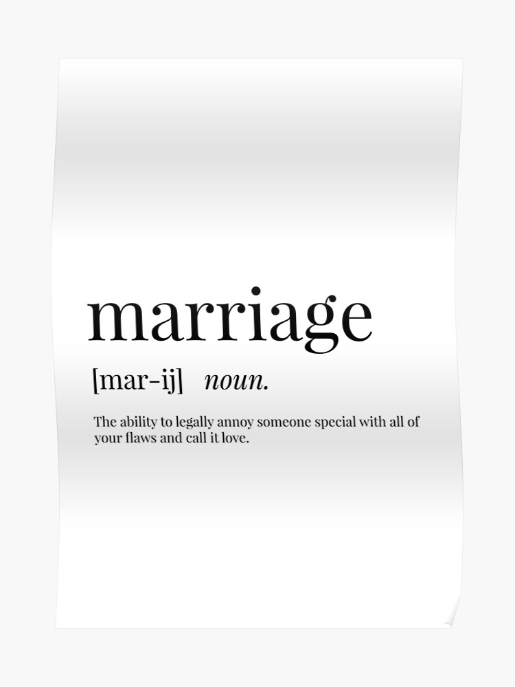 what is the definition of marriage