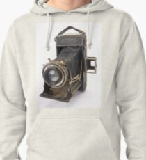 Zeiss Nettar bellows camera on white background Pullover Hoodie