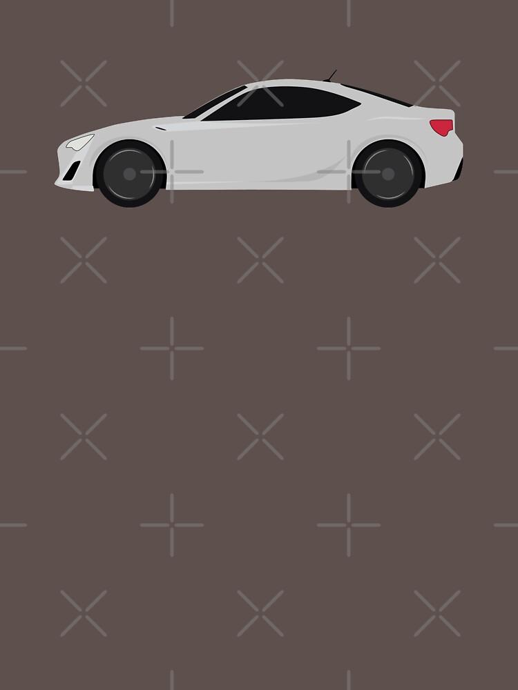 Simple Gray ZN6 Illustruation by ApexFibers