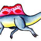 Spinosaurus by DelythThomasArt