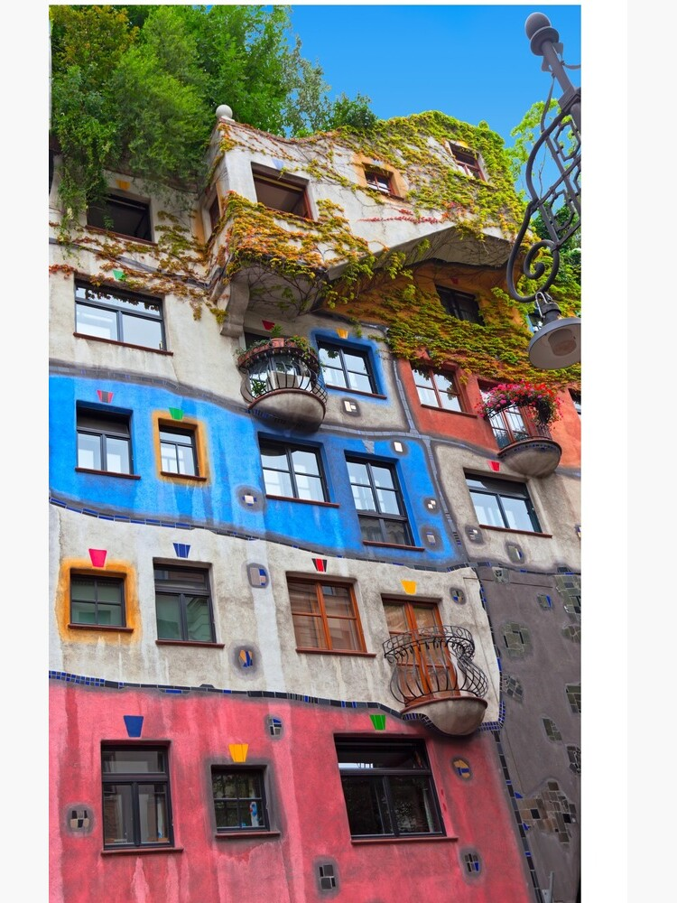 Hundertwasser House  in Vienna, Austria.  by KatyaLin