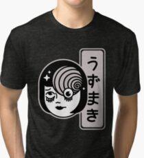 Junji Ito Uzumaki Spirale Vintage T-Shirt