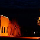 Mesilla Cloudy Night by Larry Costales