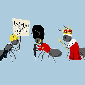 Worker Ant, Soldier Ant, Queen Ant by jezkemp
