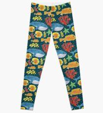 Sea Animals Print Leggings