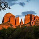 Cathedral Rock Sunset 2 by eegibson