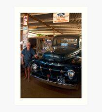 Still going strong - '52 Ford Freighter Art Print