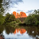 Cathedral Rock Reflection 2 by eegibson