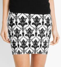221b sherlock wallpaper Mini Skirt