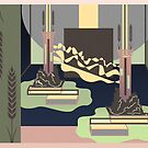 Pillars of Light by pypergray