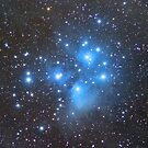 M45 - Pleiades (Seven Sisters) by Jeff Johnson