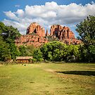 Cathedral Rock and Out Building 2 by eegibson