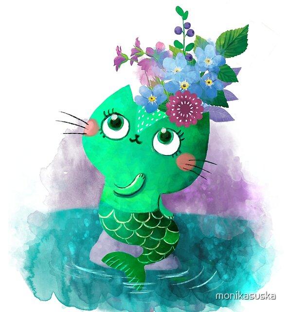« Emerald Kitty » par monikasuska