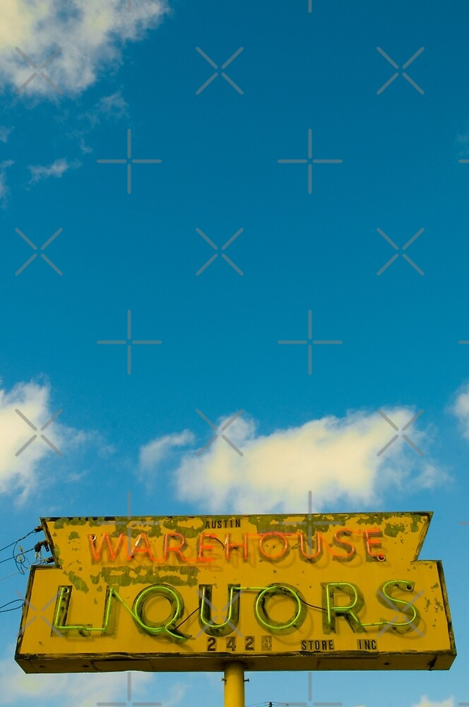 Austin, Texas - warehouse liquors by jackson photografix
