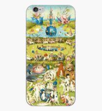 Vinilo o funda para iPhone HD Garden of Earthly Delights, de Hieronymus Bosch ALTA DEFINICIÓN