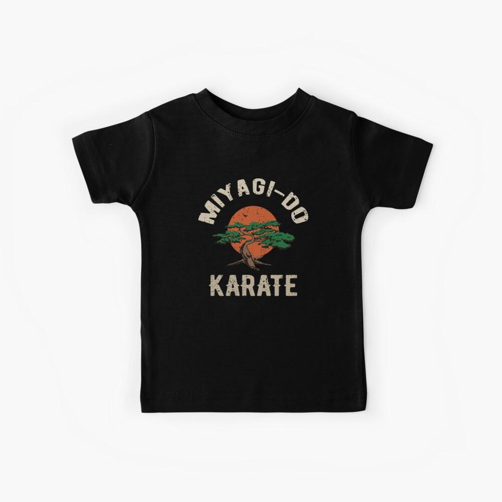Miyagi tun Karate-Distress-T-Shirt Kinder T-Shirt