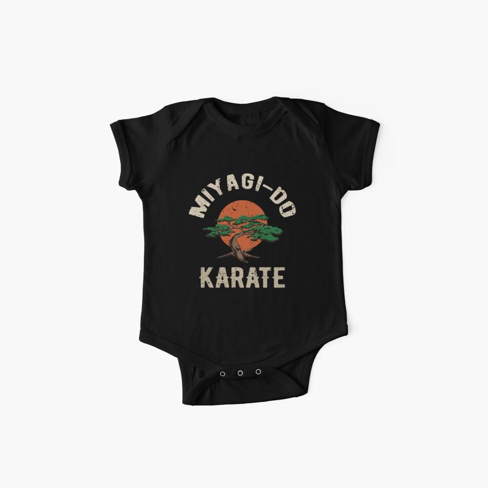 Miyagi tun Karate-Distress-T-Shirt Baby Body