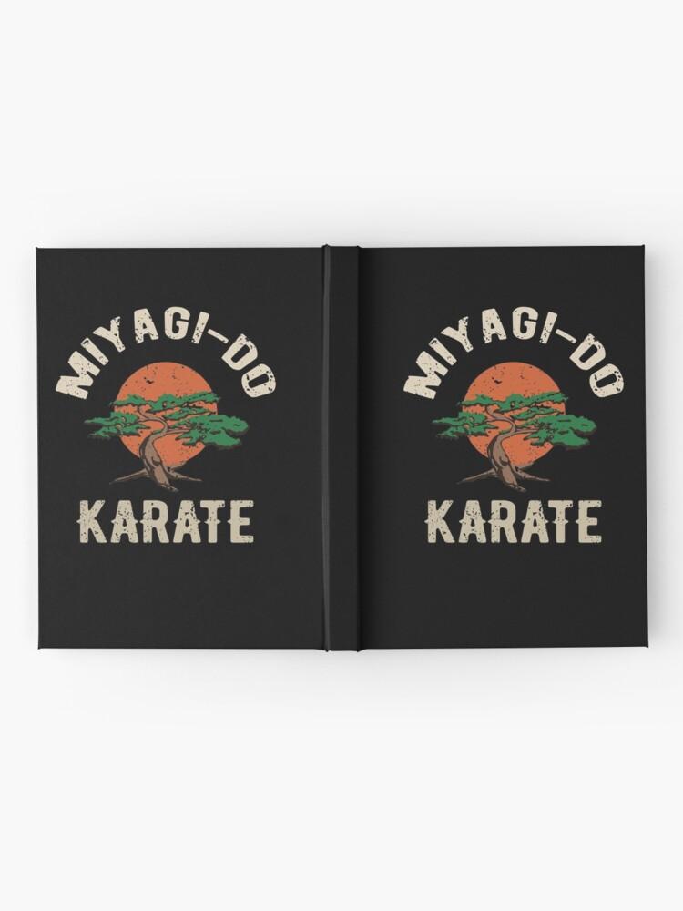 Alternative Ansicht von Miyagi tun Karate-Distress-T-Shirt Notizbuch