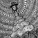 215 - SPANISH LADY (INK) 2008 by BLYTHART